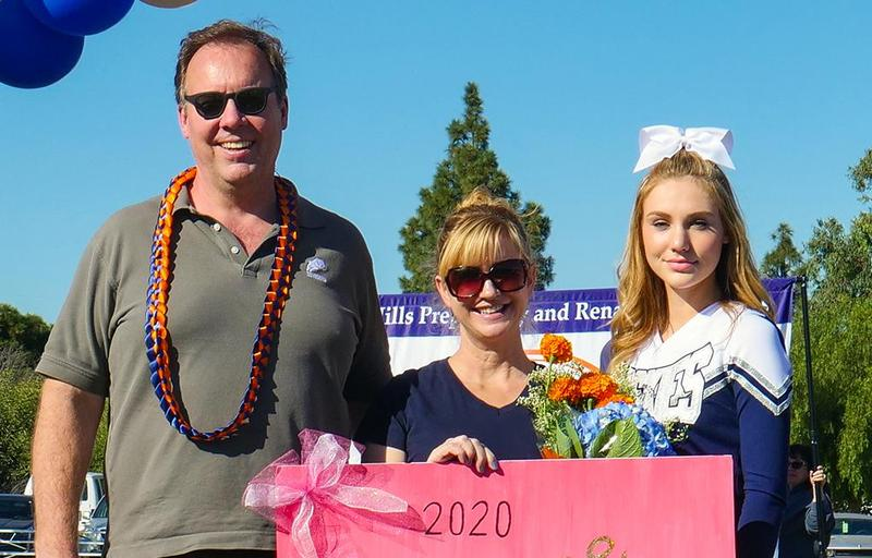 Kellanne and her Parents