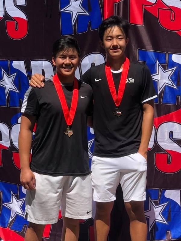 TAPPS 5A Men's Doubles State Runner Up! Thumbnail Image