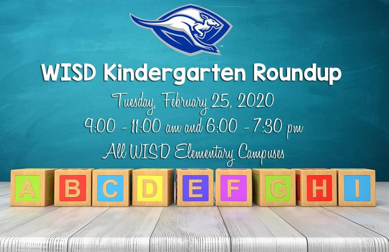 WISD Announces Kindergarten Roundup for 2020-2021 Featured Photo