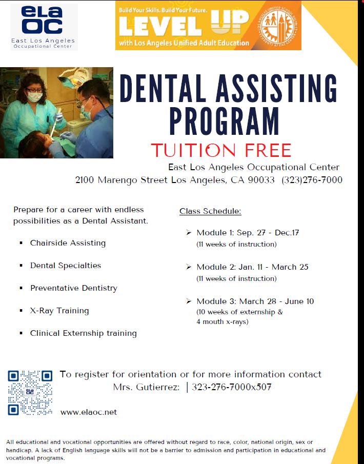 Dental Assisting Flyer