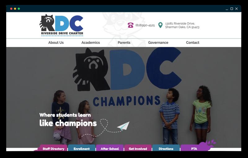 Riverside Drive Charter School homepage