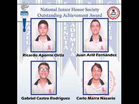 Outstanding Achievement Award NJHS 2021 Thumbnail Image