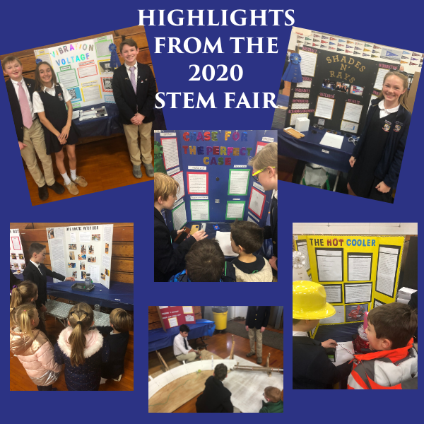 GCS Upper School STEM Fair Winners Announced Thumbnail Image