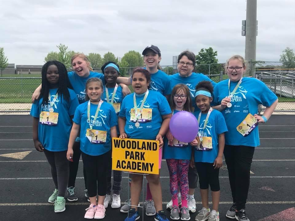 Our 2018 Girls on the Run Team!