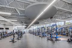 Weight Room in Professional Learning Building