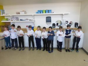 boys learning chumash