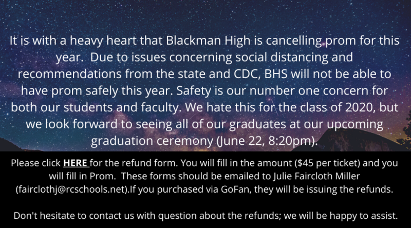 prom cancelled