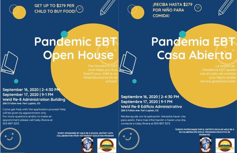 Pandemic EBT Open House
