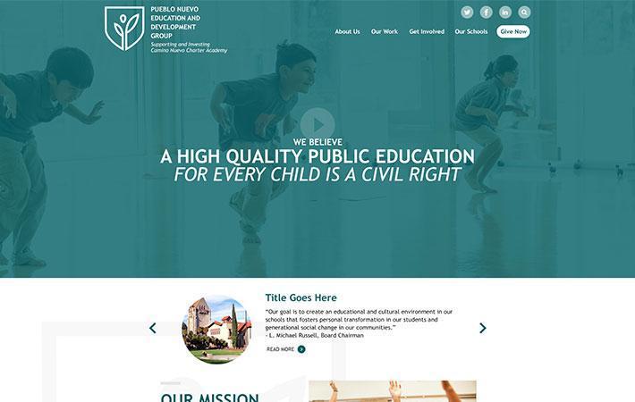 School Website Design, CMS & Parent Engagement App - Edlio