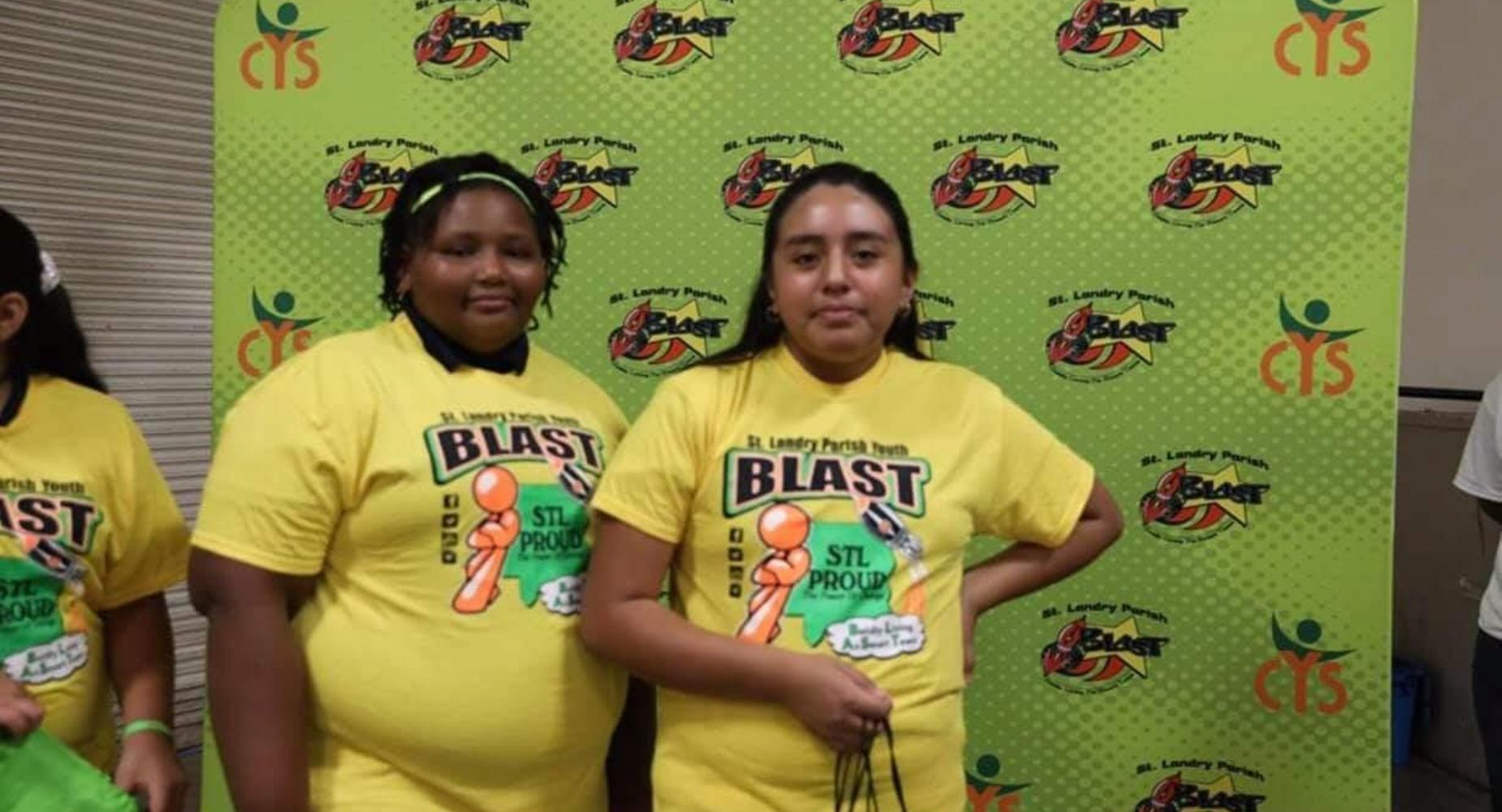 7TH GRADERS ATTENDED THE ST. LANDRY YOUTH BLAST