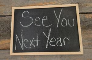 See you Next Year Sign