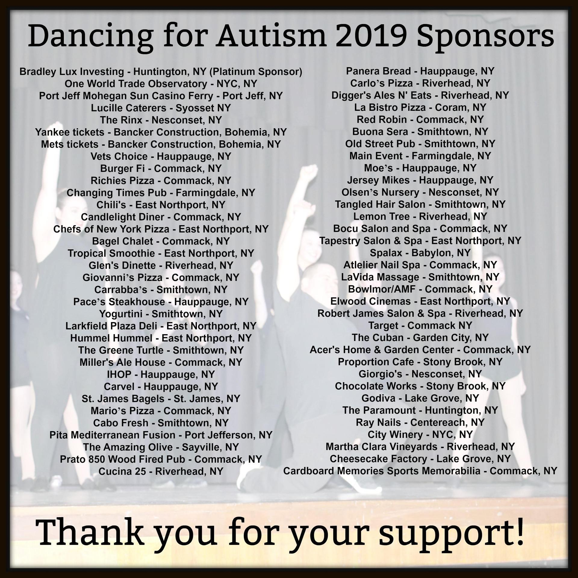DFA sponsors