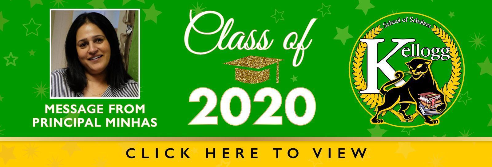 Kellogg Grad Banner