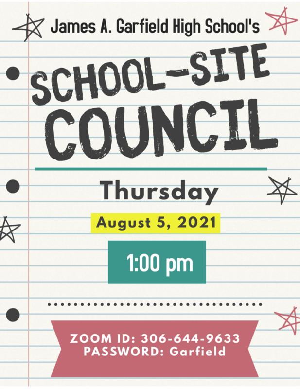 August School-Site Council