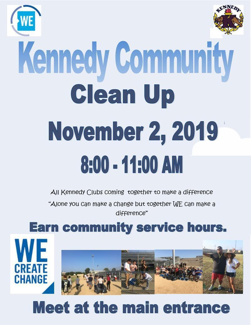 Kennedy Clean Up Day Featured Photo