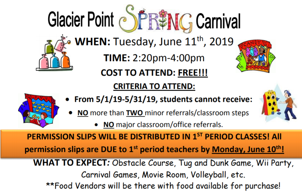 Information about Spring Carnival
