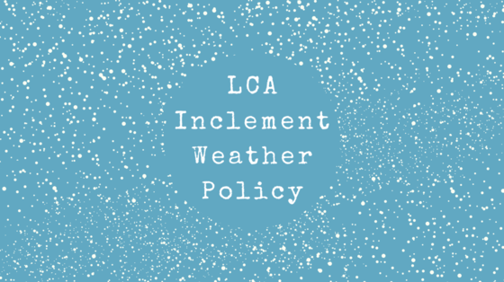 Inclement Weather Policy Featured Photo