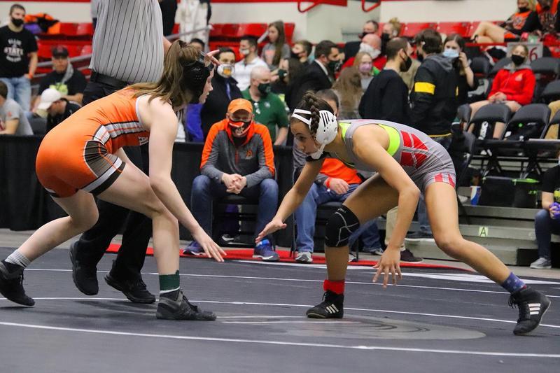 Anna Cullens 109 lb State Champion 2021