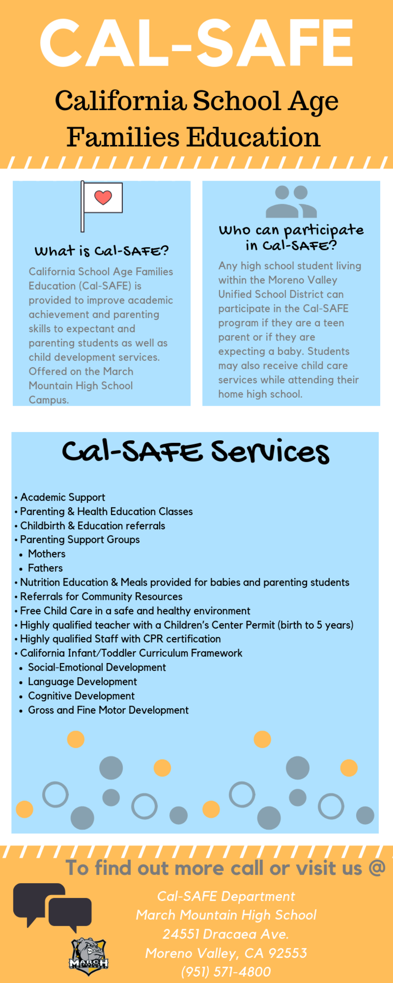 Cal-SAFE Infographic