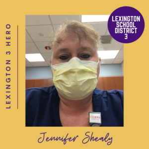 Lexington Three Salutes Healthcare Workers