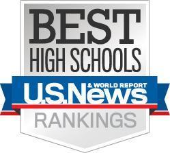 us news best high schools logo
