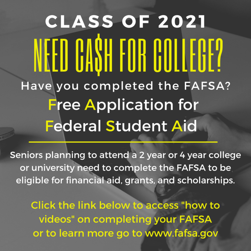 Click Here for More Information on FAFSA Thumbnail Image
