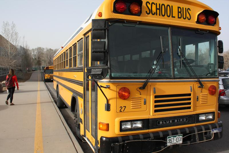 An image of a school bus