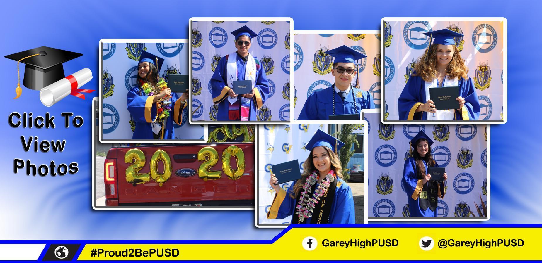 click to hear about grad photos