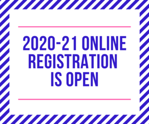 20-21 registration is open with border