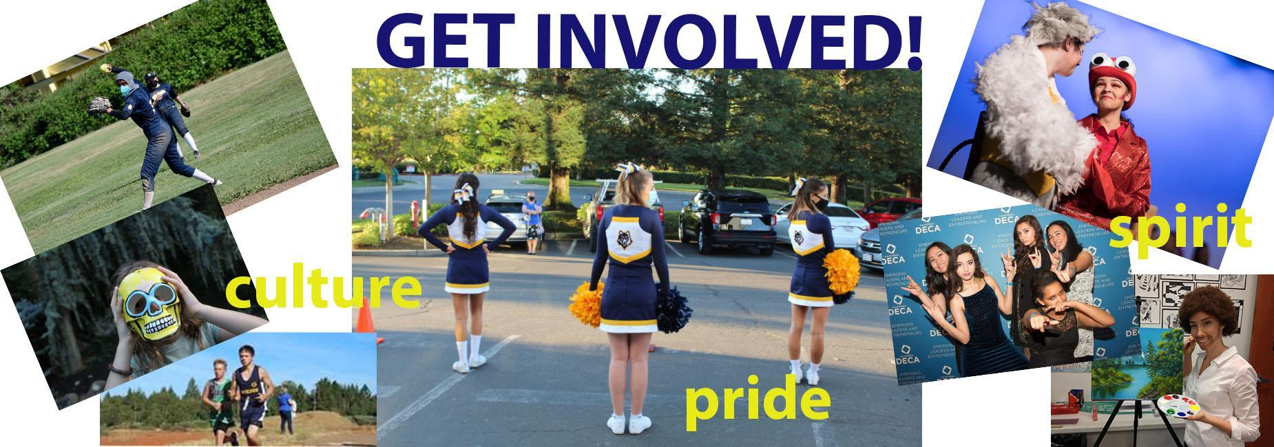 Get involved in clubs and activities