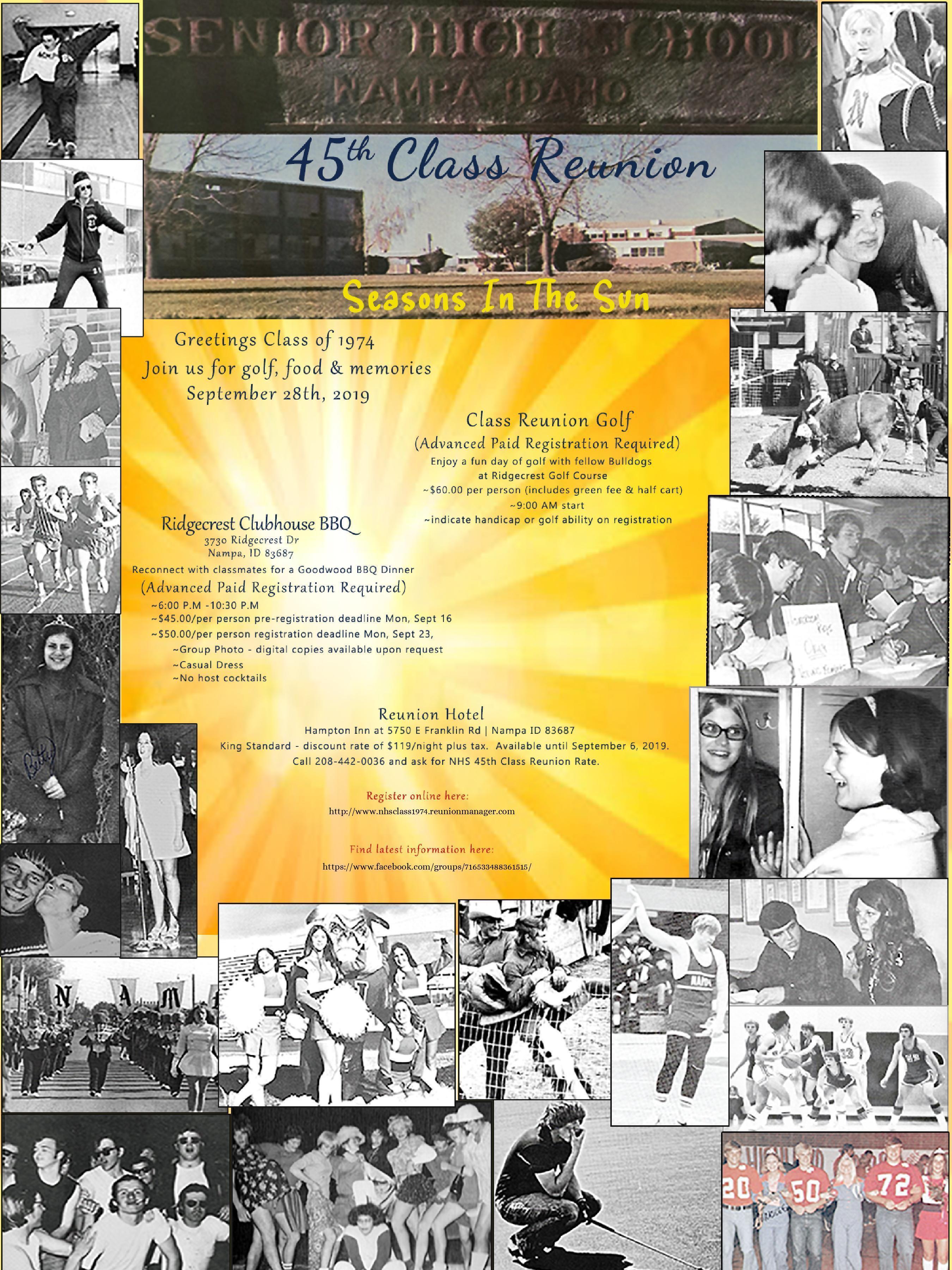 Yearbook Photos, Invitation
