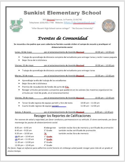 Community Events - Eventos de Comunidad Featured Photo
