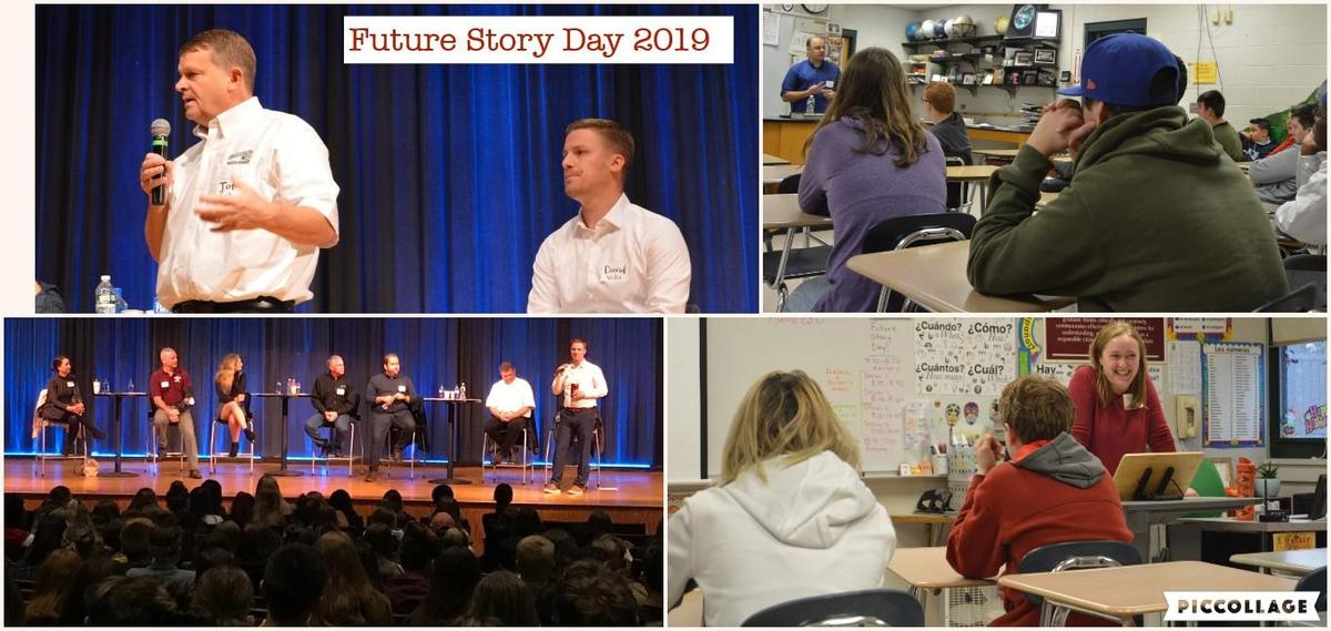 Future Story Day collage