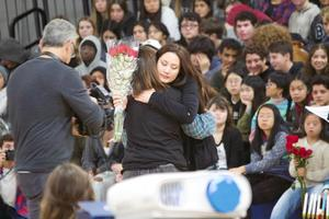 Branham High School winter wishes rally