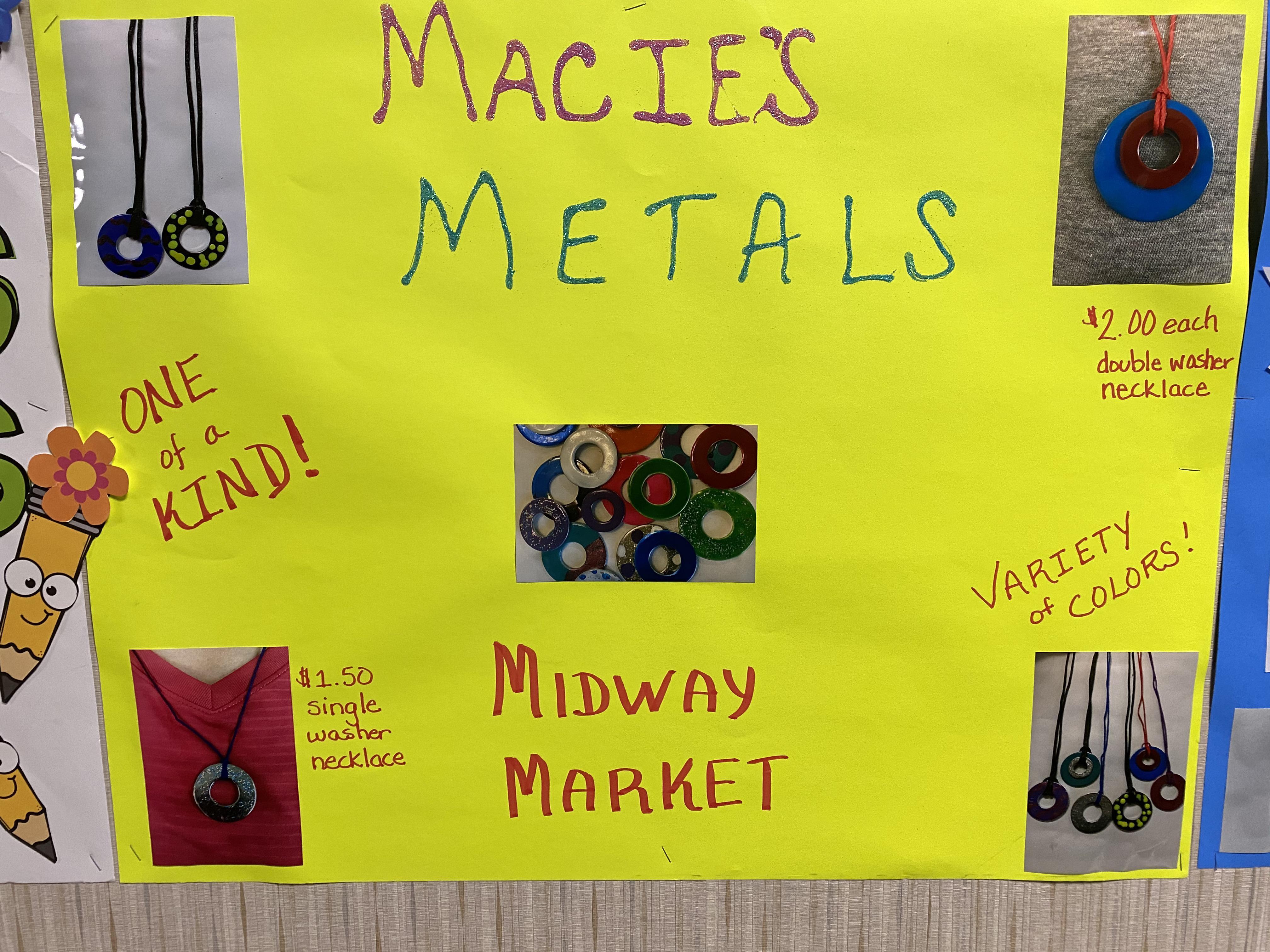 Macie's metals