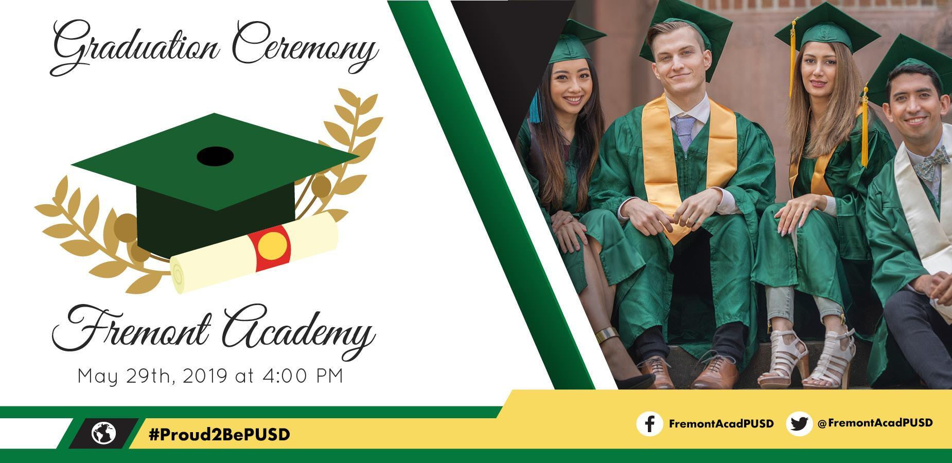 Fremont Academy: May 29th, 2019 at 4:00 pm