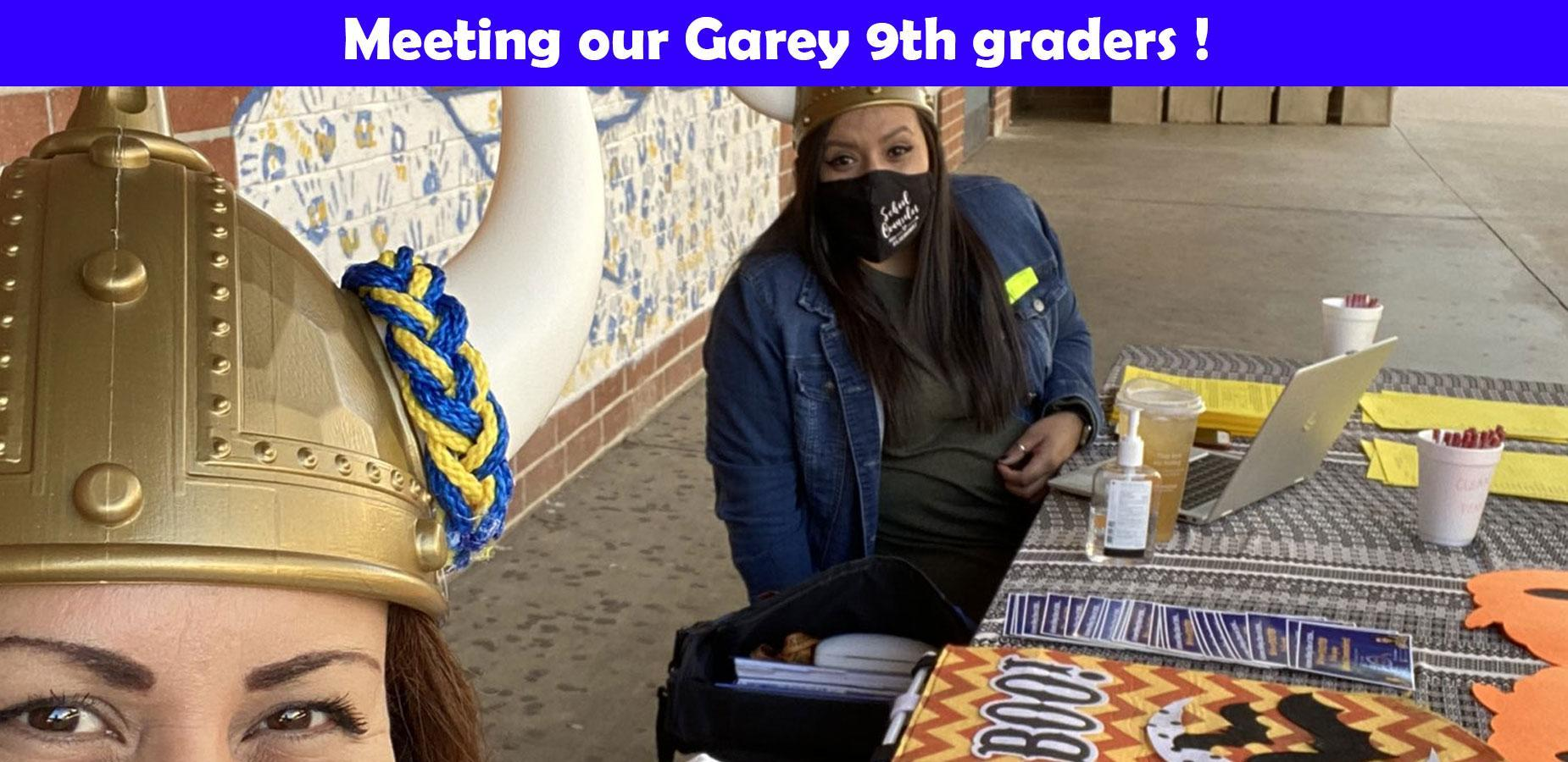 meeting our 9th graders