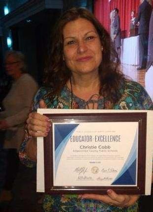 Congratulations Mrs. Cobb Thumbnail Image