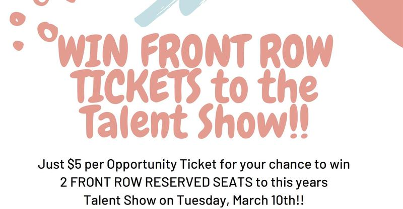 Win FRONT ROW TICKETS to the Talent Show!