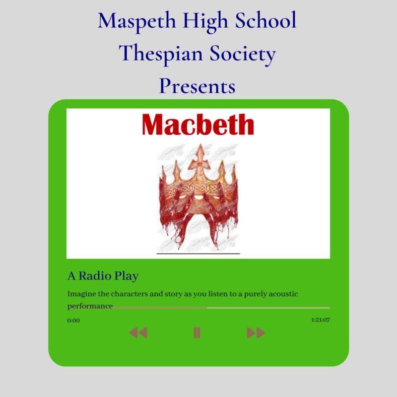 Macbeth A Radio Play