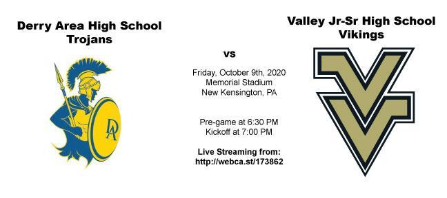 Derry vs Valley Football