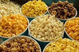 picture of all different kinds of popcorn