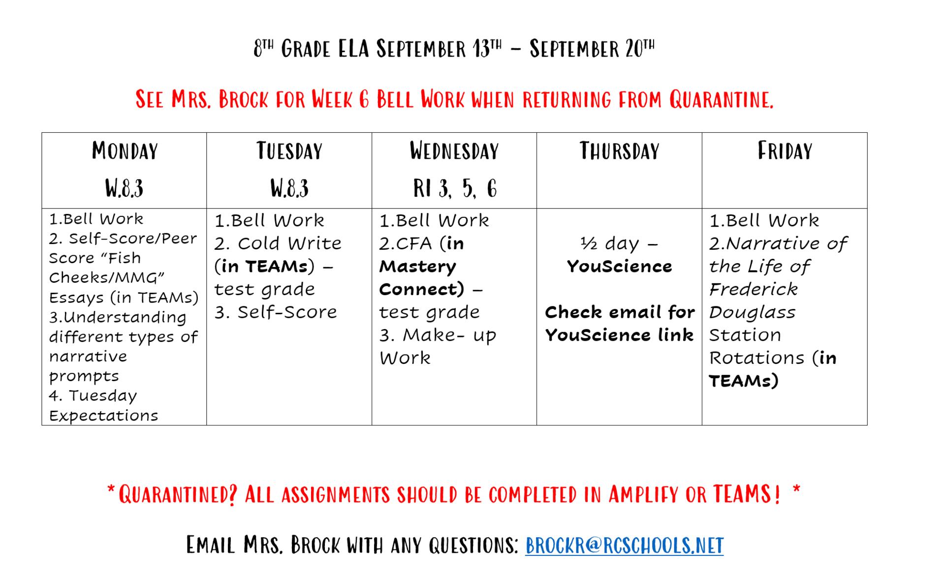 September 13th - 20th