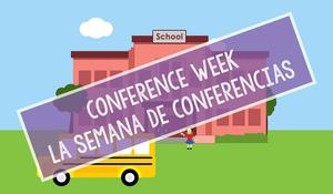 Conference week at Franklin Elementary School