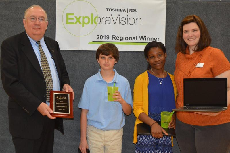 James and Rikayla win in the Exploravision National Competition Featured Photo