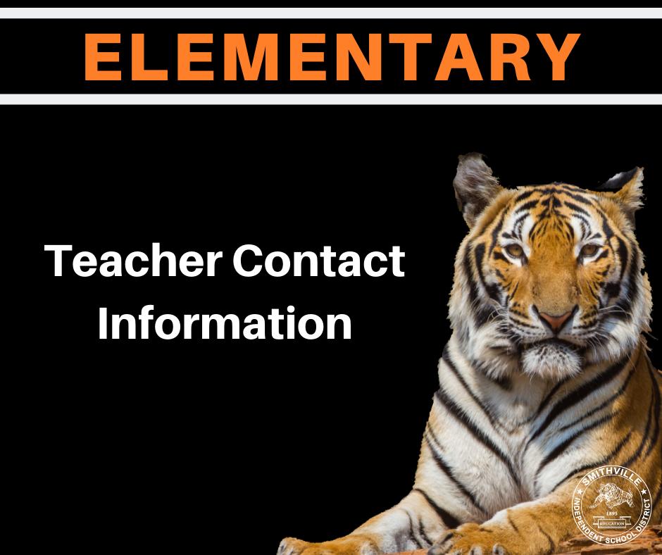ES Teacher Contact Info