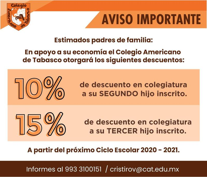 Aviso para las familias CAT Featured Photo