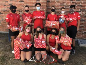 Cougar Christmas JV Tennis