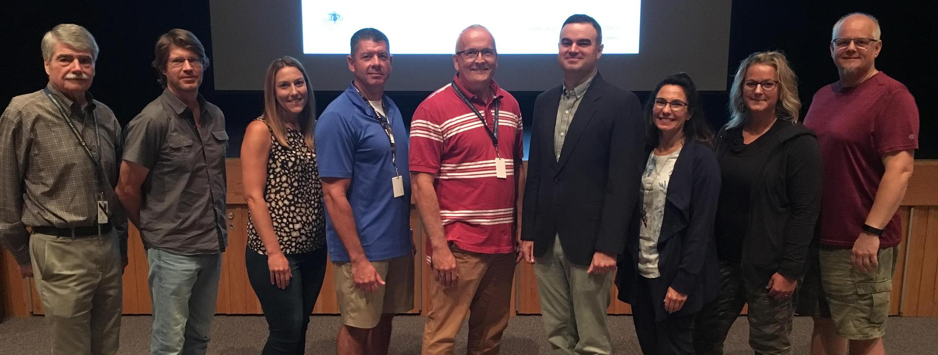 U.S. Army Major Alexander Kerr, a 2001 FRSH graduate,  joins FR's proud military veterans who are currently members of the FR staff and School Board.  Major Kerr was the guest speaker at FR's Opening Day assembly for that officially kicked off the 2019-20 school year for teachers and staff.