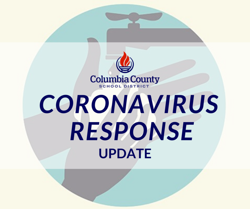 Coronavirus Response update graphic